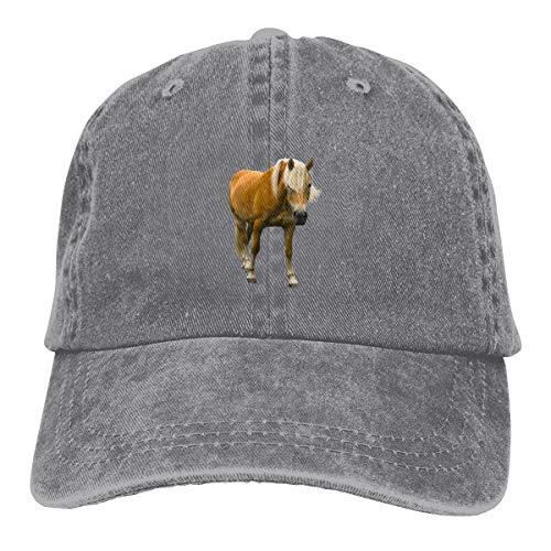 Wfispiy New Caballos Denim Gris Sombrero Sombrero Sombrero de sol UV Iones al aire libre Senderismo Cap