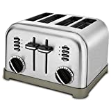 Best Toaster - Cuisinart CPT-180P1 Metal Classic 4-Slice toaster, Brushed Stainless Review
