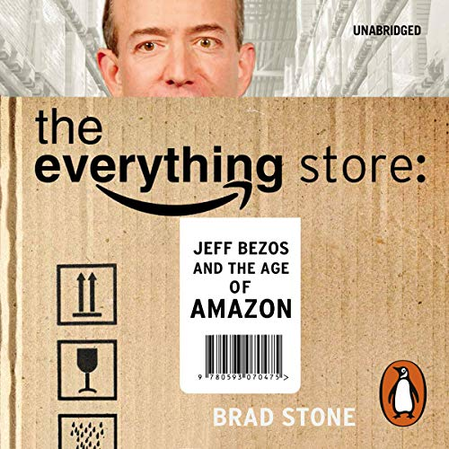 The Everything Store audiobook cover art