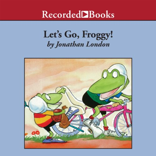 Let's Go, Froggy! audiobook cover art