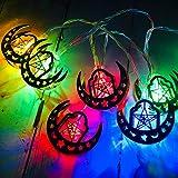 Ramadan et Eid Decor Lights LED Lights Home Festival Party Festival Faveur, LED Guirnaldas de luces para exterior e interior