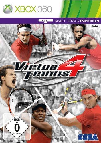 Virtua Tennis 4 (Kinect empfohlen) [Edizione: germania]