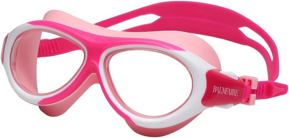 BALNEAIRE Kids Swim Goggles 6-14 Year Popularity Old Special price Anti-Fog Wa Leak No