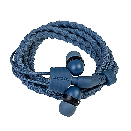 Midbass  Wraps Headset TALK Denim mit Mikrofon