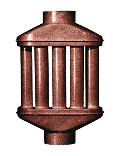 Smalbo 9772020 Diffusore Smaltato, 8 Canne, Marrone, Diametro 10 cm