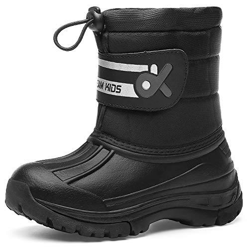 Kids Snow BootsBoys & GirlsWinterBoots Waterproof Cold Weather Outdoor Boots (Toddler/Little Kid/Big Kid) 19TXDK02-T31-28