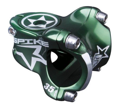 Spank Vorbau Spike Race stem, 31,8mm, incl. Custom Cap, Green, 35, SP-STM-0038-green-35