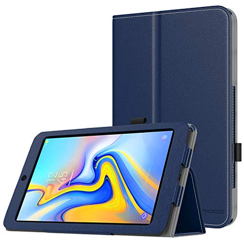 MoKo Case for Samsung Galaxy Tab A 8.0 2018 SM-T387, Premium Folding Stand Slim Smart Cover Case Compatible for Galaxy Tab A 8.0 Inch 2018 Release Tablet - Indigo