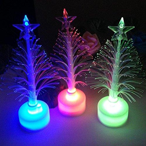 Ouneed® Ouneed® 1 pc Sapin de Noël Veilleuse de la Couleur (les Sapins de Noël)