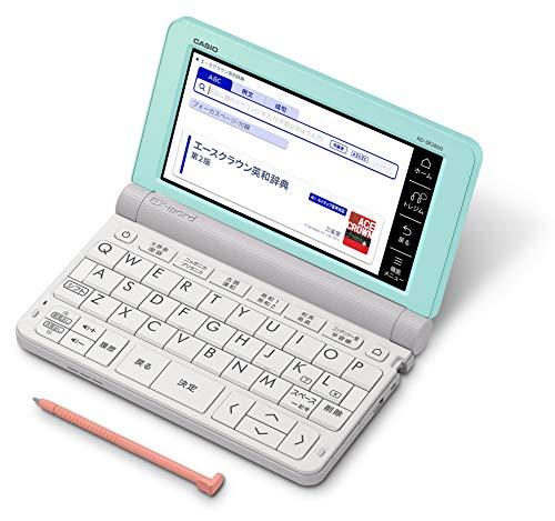 カシオ CASIO 電子辞書 エクスワード 中学生モデル XD-SR3800GN グリーン 170コンテンツ