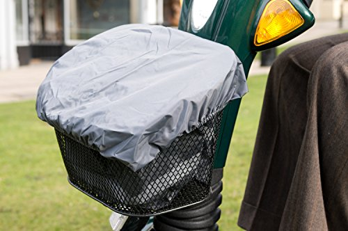 Waterproof liner and cover for Mobility Scooter Front Basket