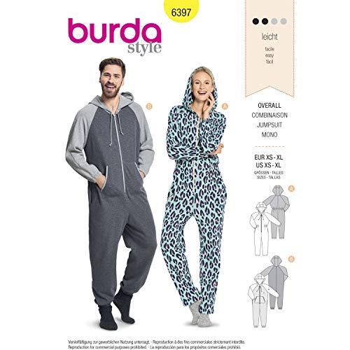 Burda Patron 6397 Damen Kombi-Kombination 34-50 (XS bis XL) und 34-50 (XS bis XL)