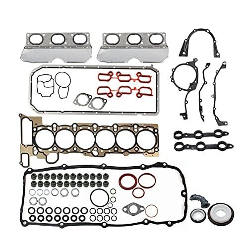 Vincos Cylinder Head Gasket Set HS9325 HS26245PT CS26245 Compatible with 330i 330xi 530i 3.0L L6 2005-2001 325xi 525i 325i 2.5L L6 01-05 330Ci X5 3.0L L6 01-06