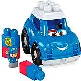 Mega-GCX08 Coche de Policia, juguete de construcción para niños + 1 año, multicolor (Mattel GCX08)