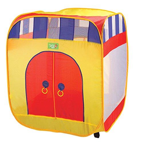 DIY Creations Play Tent The Cabana with Zipper Doors