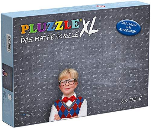 puls entertainment 99999 PLUZZLE XL - Das Mathe-Puzzle im Großformat, 66 x 47 x 0,2 cm