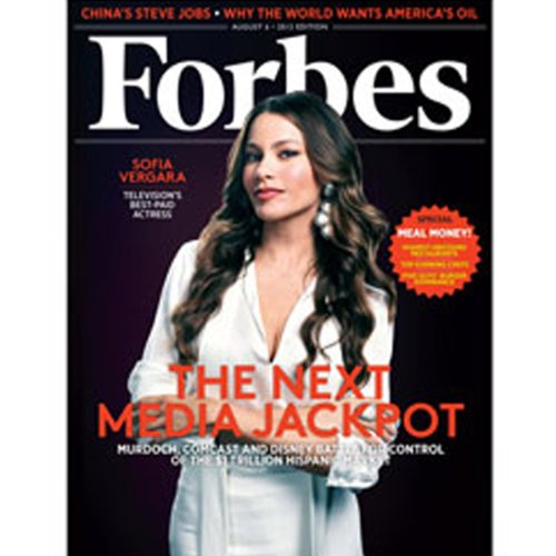 Forbes, July 23, 2012 audiobook cover art