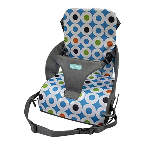 Portable Booster Seat High Chair Booster Seat Cushion Travel Child Booster Seat With Integrated Storage Pocket Easy Seat Portable Travel High Chair For Toddlers Aged 6 Months To 3 Years Old