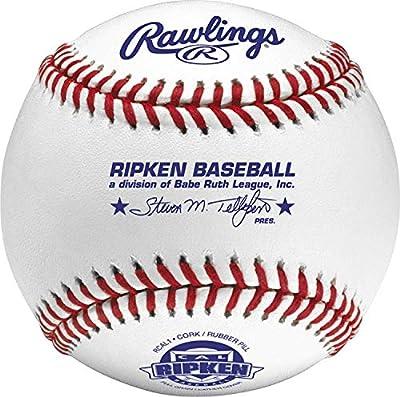 Rawlings Cal Ripken Competition Grade Youth Baseballs, Box of 12 Balls, RCAL1