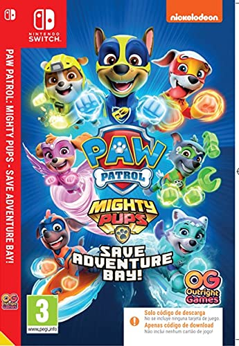 Paw Patrol Mighty Pups Save Adventure Bay! Code In The Box