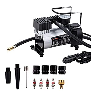 51kwwhHC1VL. SS300  - Katsu ® 451719 – Inflador de neumáticos de Coche, compresor de Aire, 12V Gran relación Precio-Calidad