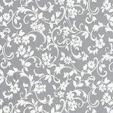 Venilia KF Basic Cirrus 45cmx1,5m adhesiva decorativa, muebles, papel pintado, lámina autoadhesiva, PVC, sin ftalatos, 1,5m, 53236, 45 cm x 1,5 m