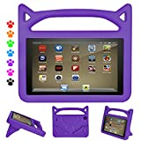 Kids Case for All-New 7 inch Tablet (Compatible with 7th Generation, 2017 Release/9th Generation, 2019 Release),Dinines Lightweight Shockproof Kids-Proof Case Cover for Tablet 7,Purple