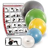 POWRX Palle da ginnastica e accessori