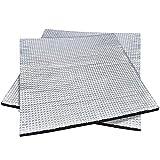 NATEE 2pcs Tapis de Protection Thermique auto-adhésif, Thermique de Coton d'isolant, Imprimante 3D Lit Chauffant Isolation, Tapis d'isolation Thermique