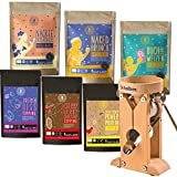 Schnitzer Campo - Set per principianti in legno di faggio + confezione di prova per cereali, 6 pezzi