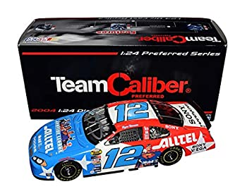 AUTOGRAPHED 2004 Ryan Newman #12 Justice League Superman Racing SIGNED BY JIMMIE JOHNSON Team Caliber Preferred Series Signed 1/24 Scale NASCAR Diecast Car with COA