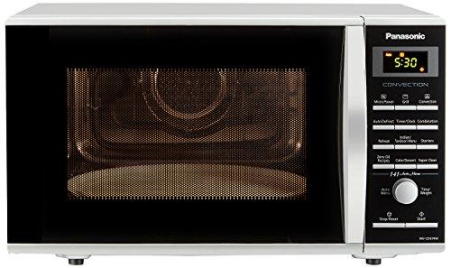 Panasonic 27L Convection Microwave Oven(NN-CD674MFDG,Silver, Rotisserie) with Starter Kit