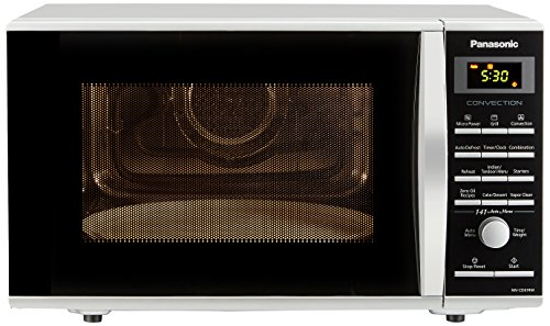 Panasonic 27L Convection Microwave Oven(NN-CD674MFDG,Silver, Rotisserie)