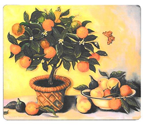 Lady Clare orange Tree Untersetzer–Set von 6
