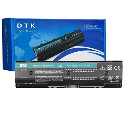 Dtk® Notebook Laptop Batterie Li-ion Akku für HP PI06 PI09 710416-001 710417-001, Envy 15 15T 17 Pavilion 14-E000 15-E000 15t-e000 15z-e000 17-E000 17-E100 17Z-E100 PI06 [10.8V 4400MAH]