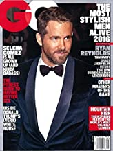 GQ Magazine, May 2016 [RYAN REYNOLDS cover]