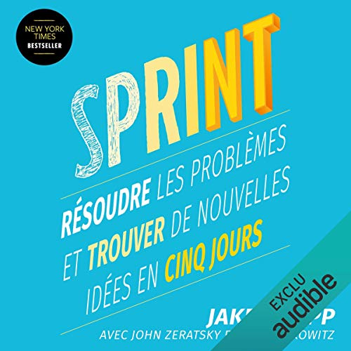 Sprint audiobook cover art