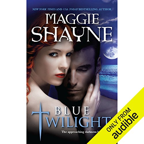 Blue Twilight audiobook cover art