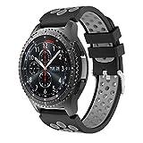 Syxinn Compatible con Correa de Reloj Gear S3 Frontier/Classic/Galaxy Watch 46mm Reemplazo de Banda...