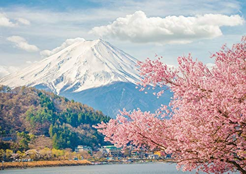 Destination Vinyl Posters A3| Mount Fuji Poster Print Size A3 Japan Sakura...