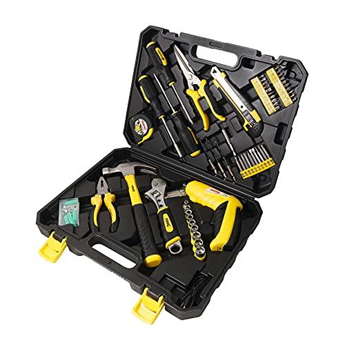 WMC TOOLS Werkzeugkoffer gefüllt 110...