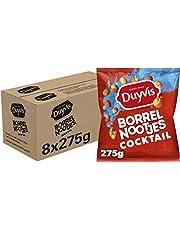 Duyvis Borrelnootjes Cocktail, Doos 8 x 275 g