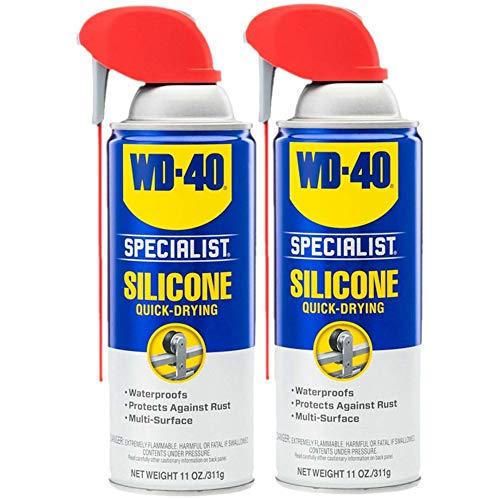 WD-40 Specialist Silicone Lubricant with Smart Straw Sprays 2 Ways