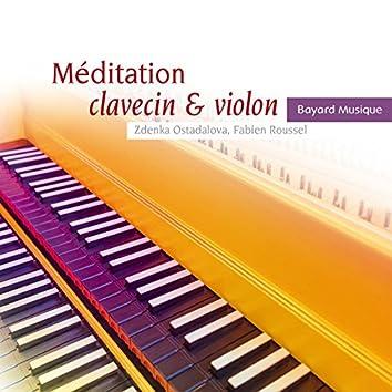 Méditation clavecin & violon