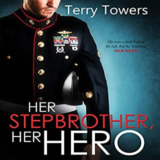 Her Stepbrother, Her Hero audiobook cover art