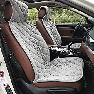 2018 New 2pc Plush car seat Cover,Colours Gray,Black,Brown,Yellow,Red,Material Velvet,Universal Size,for car BMW f3