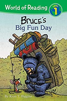 World of Reading: Mother Bruce:  Bruce's Big Fun Day: Level 1 by [Ryan T. Higgins]