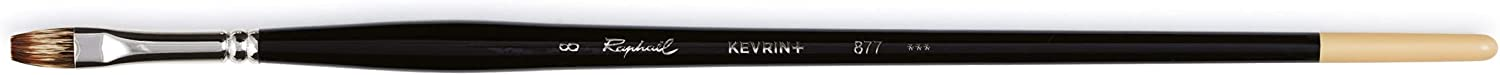 Raphael Kevrin+ 877 Synthetic Houston Mall Now free shipping Blend Natural Bright 8 Brush