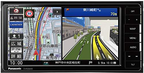 『パナソニック カーナビ ストラーダ 7型ワイド CN-RE06WD フルセグ/Bluetooth/DVD/CD/SD/USB/VICS』のトップ画像
