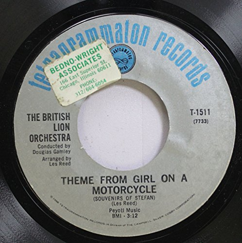 The British Lion Orch. 45 RPM Theme From Girl On A Motorcycle / Girl On A Motorcycle